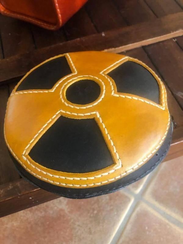 Kleine Tasche Radioaktive